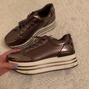 Nasty Gal Shoes - Nasty Gal platform sneakers